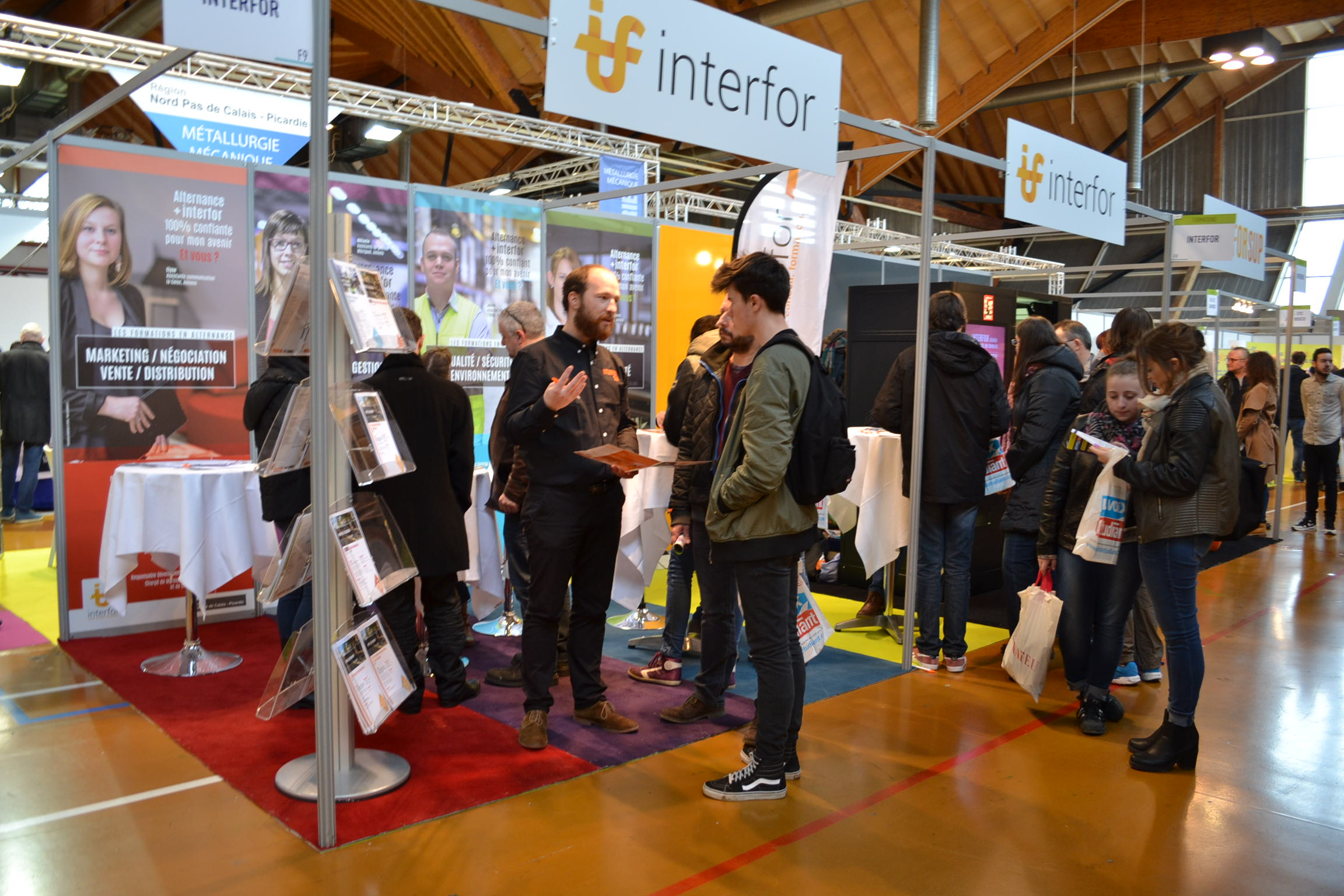 Salon de l'apprentissage et de l'alternance - Interfor Formation Alternance
